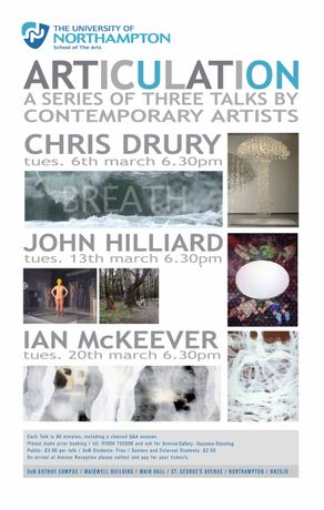 Articulation: A Series of Public Talks by Contemporary British Artists: Image 0