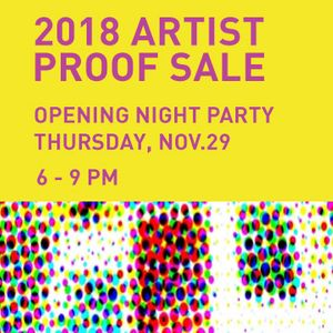 Artist Proof Sale 2018