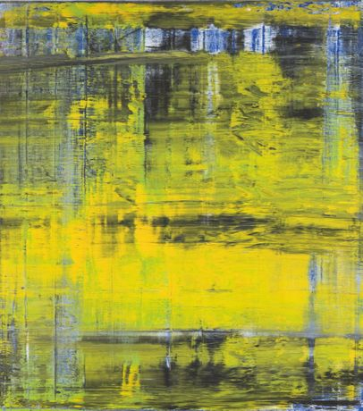 Gerhard Richter, Abstract Painting (809-3), 1994, oil paint on canvas, 2300 x 2048 x 75 mm. © Gerhard Richter. ARTIST ROOMS Tate and National Galleries of Scotland. Acquired jointly through The d'Offay Donation with assistance from the National Heritage Memorial Fund and the Art Fund 2008