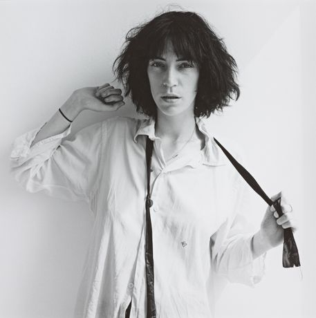 Robert Mapplethorpe, Patti Smith, 1975  ARTIST ROOMS National Galleries of Scotland and Tate. Acquired jointly through The d'Offay Donation with assistance from the National Heritage Memorial Fund and Art Fund 2008 © Robert Mapplethorpe Foundation