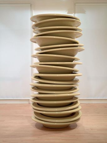 No Title (Stacked Plates) 2010 Robert Therrien. © ARS, NY and DACS, London 2015