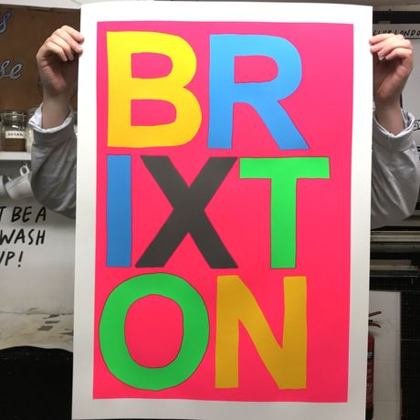 Exclusive 'Brixton' Show Print  - Edition of 30