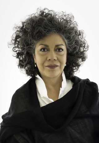 Doris Salcedo Portrait by David Heald. Image courtesy of Alexander and Bonin, New York.