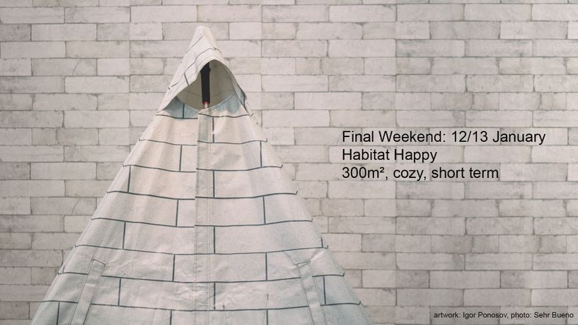 Artist talk: Habitat Happy - 300m², cozy, short term: Image 0