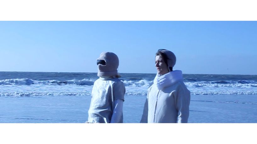 Anna Barratt, Gemma Copp & Joan Jones, Still from A Spacewoman Dreams, 2018, Film