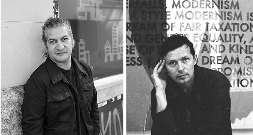 Carlos Garaicoa and Robert Montgomery
