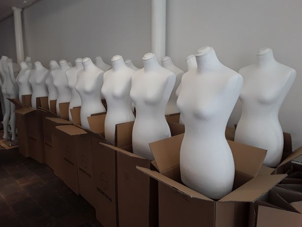Mannequins ready to be dressed