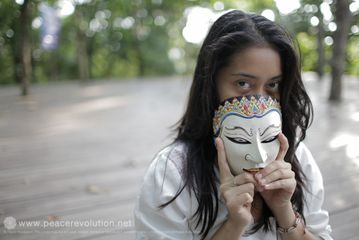 Sekar, Performance artist, Artistic Meditation Retreat 2015