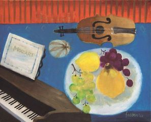 The Piano by Mary Fedden