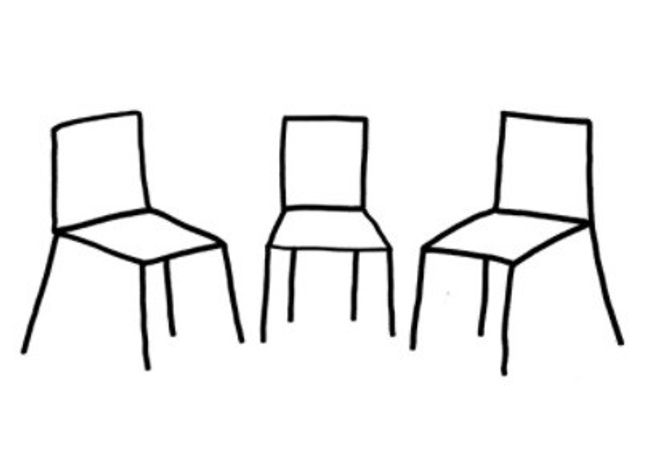 Maria Lalou, 'How to Seat - I', 2018, drawing for 'The Dialogue'.