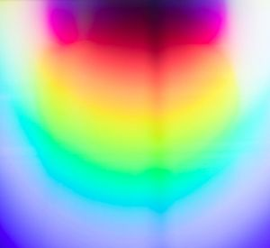Yann Pocreau, Diffraction 01, 2018, digital print, 26 × 24 in. (66.04 × 60.96 cm)
