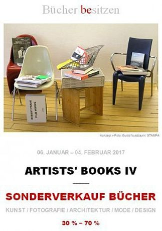 ARTISTS' BOOKS IV