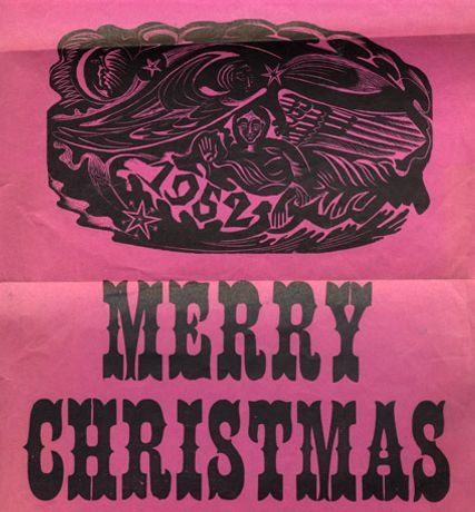 Artists' Christmas Cards: Vintage designs from the 1930s to the 1950s: Image 0