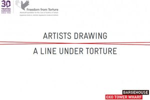Artists Drawing a Line Under Torture