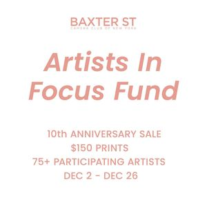 Artists In Focus Fund