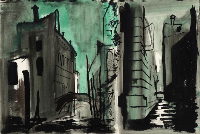 Study for Death in Venice by John Piper
