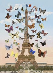 Peter Blake 'Eiffel Tower Lenticular'