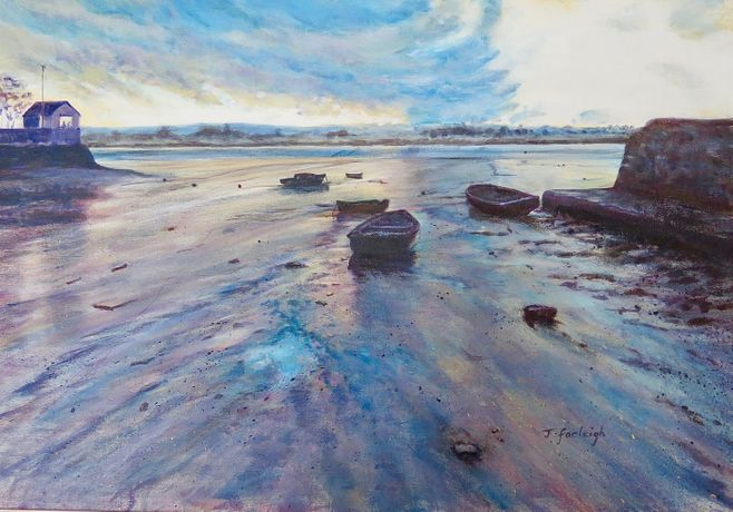 Featured Work: Sunset Estuary