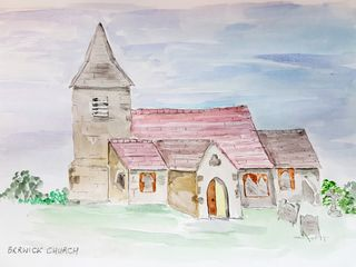 Berwick Church, by Linda from Arts in Mind
