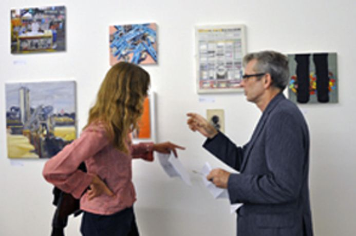 ArtWorks Open - Graham Crowley and Kiera Bennett in Discussion: Image 0
