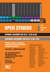 ASC The Chaplin Centre Open Studios