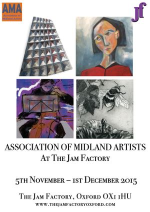 Association of Midland Artists At the Jam Factory