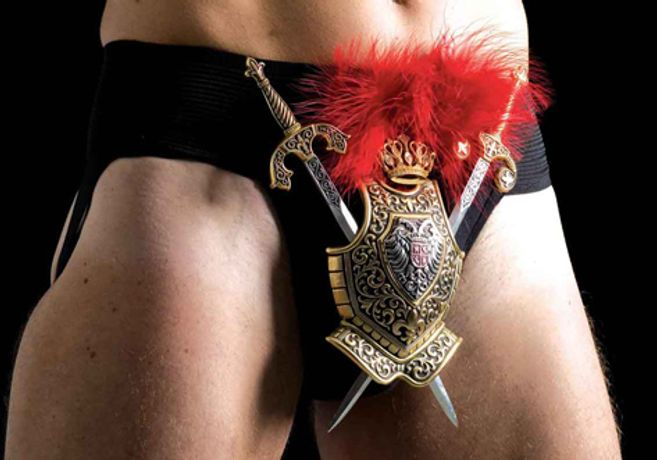 'STRAPPED: The Art of the Decorated Jockstrap' by Colin Corbertt: Image 0
