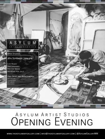 Asylum Artist Studios Open evening: Image 0