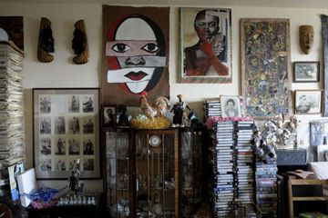 Vanley Burke's flat, courtesy  the  artist and Ikon