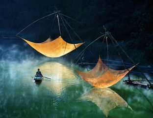 Fishing net checking - Ly Hoang