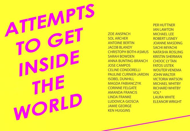 Attempts to Get Inside the World - an exhibition curated by Natasha Rosling: Image 0