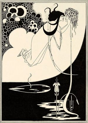 Aubrey Beardsley The Climax 1893 (published 1907). Stephen Calloway.