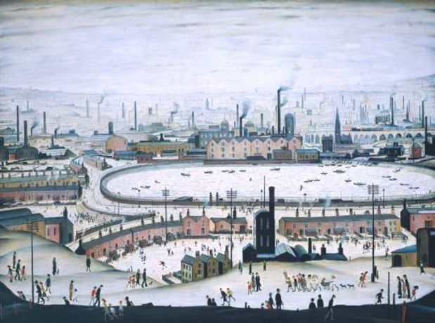 Audio Description: Lowry and the Painting of Modern Life: Image 0