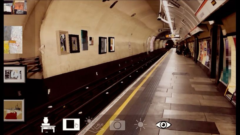 Tapgaze Augmented Reality App - Transport Your Artwork To Everyone