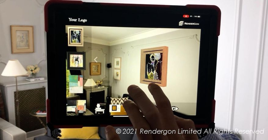 Tapgaze Augmented Reality App - The Catalogue At Your Fingerprints, Accessible to Anyone With a Smartphone