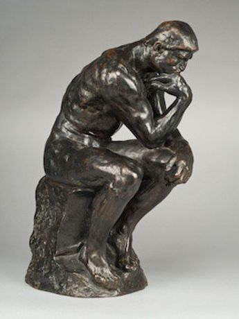 The Thinker, conceived 1880