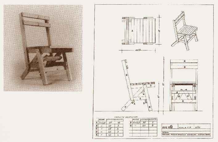 Autoprogettazione Revisted: Easy-to-Assemble Furniture by Enzo Mari and Invited Guests: Image 0