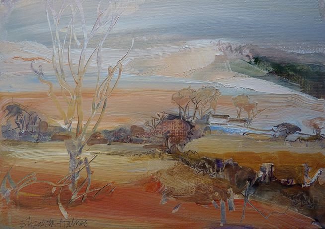 Frosty morning, Preseli by Elizabeth Haines