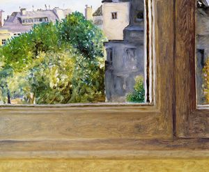 Avigdor Arikha, View from Rue de la Chaise, 2005 Courtesy the Estate of Avigdor Arikha and Blain|Southern