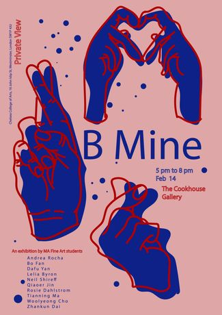 B Mine Exhibition at the Cookhouse Gallery