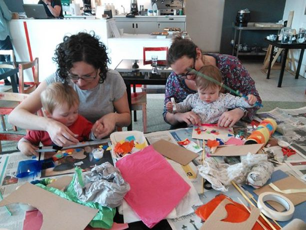 Baby Art Hour at Spike Island
