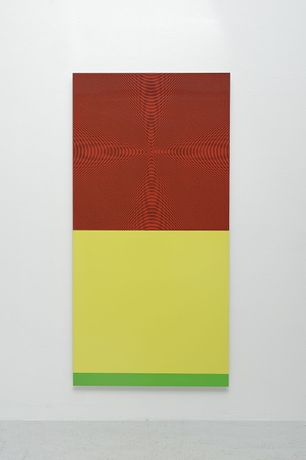 John Armelder, 2003, Screen print on aluminium plate, 158x79cm, ed. 20