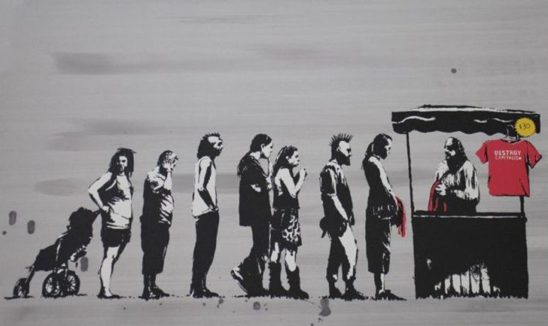 Banksy - Festival Colour AP (2006)