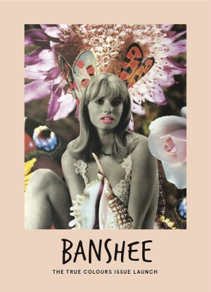 Artwork exclusive by Linder for Banshee Magazine. Courtesy of Modern Art.