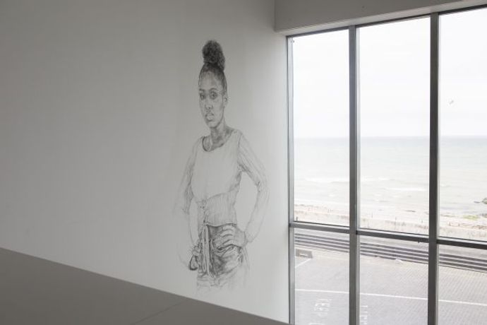 Barbara Walker: Place, Space and Who. Turner Contemporary. Photography by Stuart Leech.