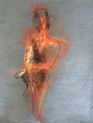 Bare - an exhibition by Hampstead artist Gabrielle Guz