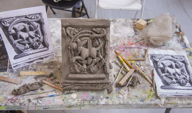 Bas Relief Modelling in Clay