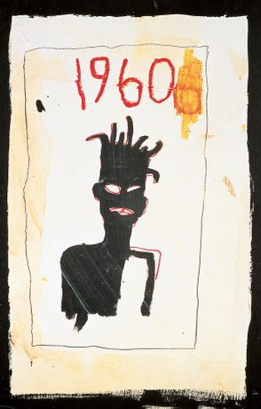 Jean-Michel Basquiat, Untitled (1960), 1983 Courtesy Estate of Jean-michel Basquiat Estate. Licenced by Artestar, Ny © Estate of Jean-Michel Basquiat, Licensed by Artestar, New York