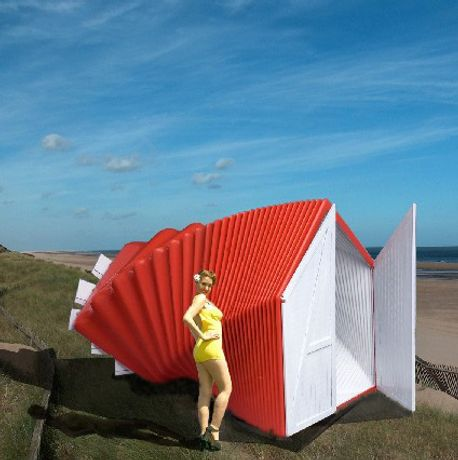 Bathing Beauties: Re-imagining the Beach Hut for the 21st Century: Image 0