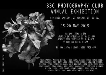 BBC Photography Club Annual Exhibition 2015
